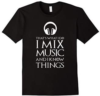 Jockey I Mix Music Funny Disk DJ T-Shirt Gift
