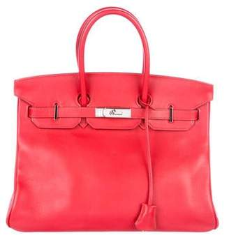 Pre Owned At Therealreal Hermes Swift Birkin 35