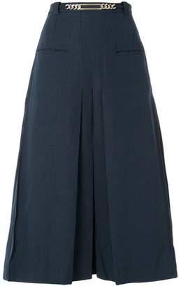 Carven pleated midi skirt