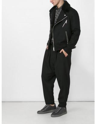 Neil Barrett multi-pocket biker jacket $1,700 thestylecure.com