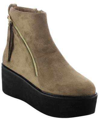 5f96af2e40f7 NATURE BREEZE EI92 Women s Double Zippers Pull Tab Platform Wedge Ankle  Booties