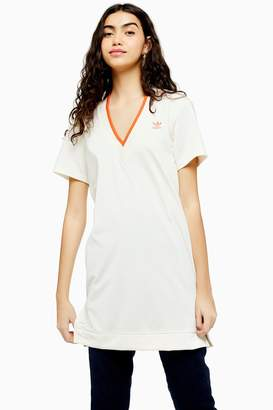 adidas Football Style T-Shirt Dress by