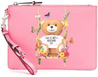 Moschino Toy Bear clutch