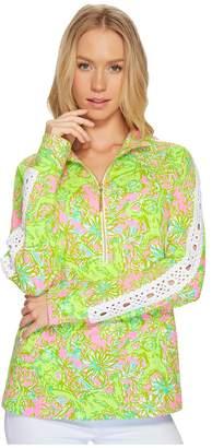 Lilly Pulitzer Skipper Popover w/ Lace Women's Sweatshirt