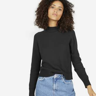 Everlane The Cotton Mockneck Crop