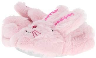 Stride Rite Fluffy Bunny Slipper Girls Shoes