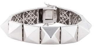 Eddie Borgo Pyramid Spike Bracelet