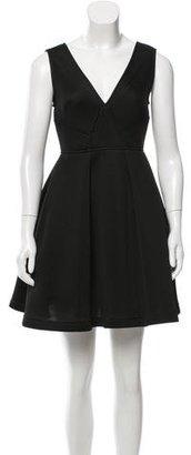 Sandro A-Line Noir Dress w/ Tags $150 thestylecure.com
