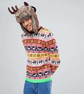 Asos Tall Christmas Fairisle Jumper