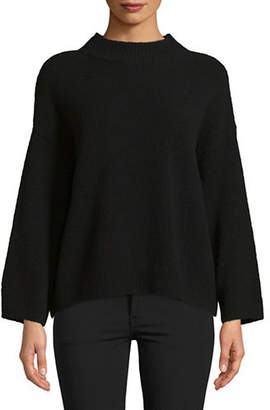 Vince Boxy Wool-Blend Pullover
