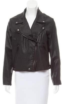 Current/Elliott Soho Biker Coated Jacket