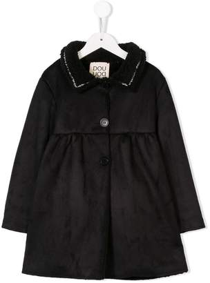 Douuod Kids faux fur coat
