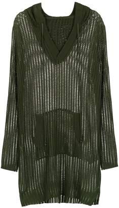 Track & Field hooded knit dress