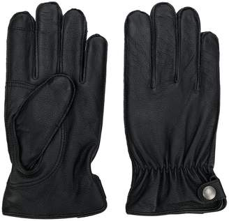 Polo Ralph Lauren Leather gloves with touch