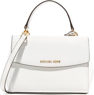 MICHAEL Michael Kors Ava Small Satchel $178 thestylecure.com