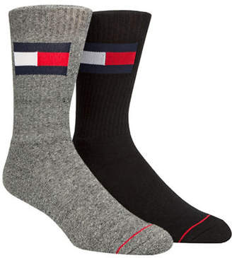 Tommy Hilfiger Two-Pack Flag Crew Socks