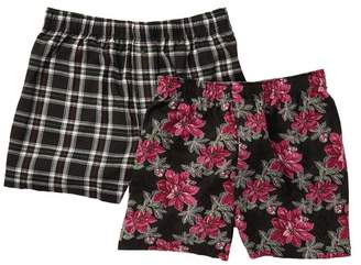 Tommy Bahama Holiday Holly Plaid Boxer Set \n