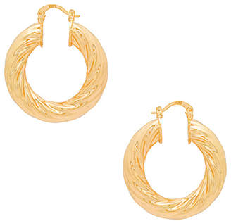 joolz by Martha Calvo Swirl Hoops