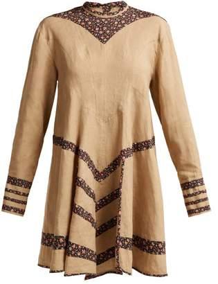 Isabel Marant Melissande Linen Dress - Womens - Beige