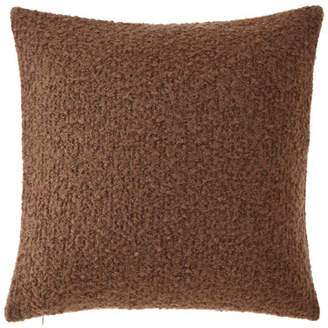 Ann Gish Boucle Pillow, Taupe