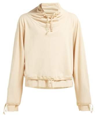 Lemaire Layered Cotton Jersey Sweatshirt - Womens - Beige