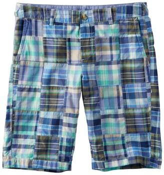 "L.L. Bean L.L.Bean Women's Washed Chino Bermuda Shorts, 10"" Patchwork"