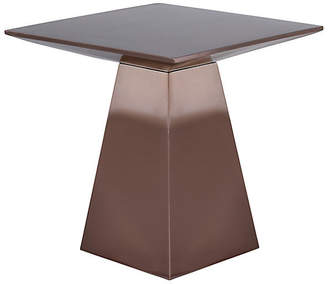 One Kings Lane Liam Side Table - Copper