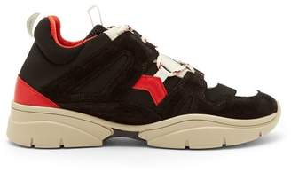 Isabel Marant Kindsay Trainers - Womens - Black Red