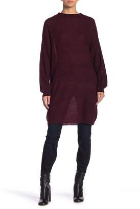 Solutions Drop Shoulder Boucle Oversized Sweater