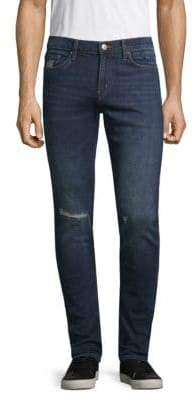 J Brand Mick Distressed Skinny-Fit Jeans