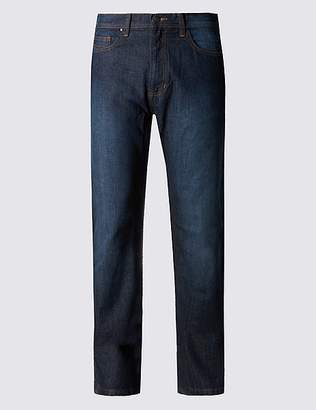 Marks and Spencer Regular Fit Stretch Jeans