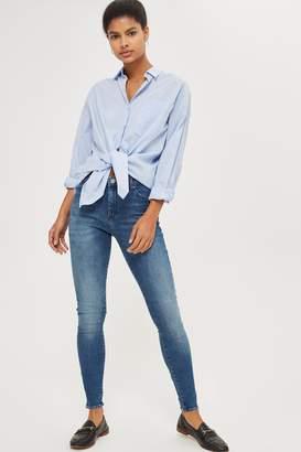 Topshop Womens Tall Indigo Leigh Jeans - Indigo