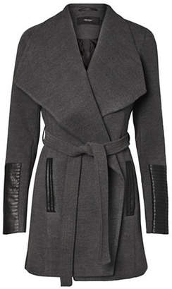 Vero Moda Contrast Trim Envelope Lapel Jacket