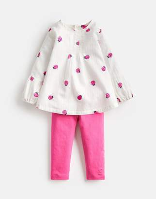 Joules Clothing Baby effie Woven Top And Legging Set