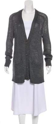 360 Sweater Open Front Knit Cardigan