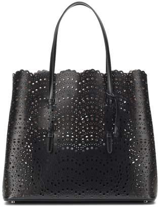 Alaia Mina Large leather tote