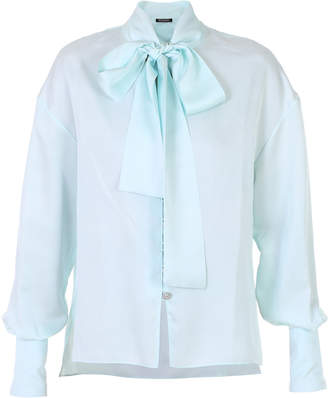 b2aeb13ee39fa9 Satin Silk Blouse Long Sleeve - ShopStyle UK