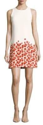 Taylor Sleeveless Floral-Print Dress