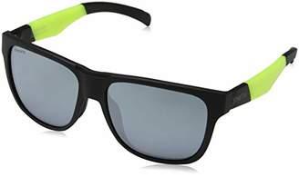 Smith Men's Lowdown/N XB PGC Sunglasses, (Black Yellow/Sl Silver)