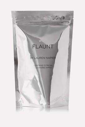 Lauren Napier Beauty - The Flaunt Package - Facial Cleansing Wipes X 15