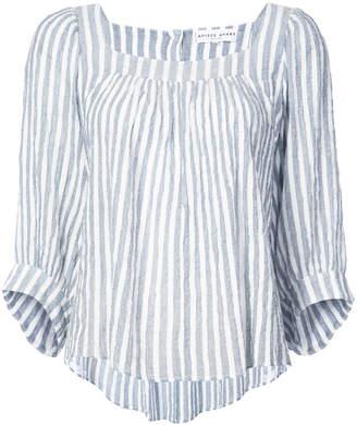 Apiece Apart Khadi striped blouse