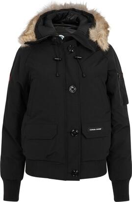 Canada Goose Chilliwack Black Fur
