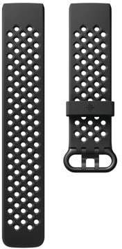 Fitbit Charge 3 Advanced Fitness Tracker Perforated Sports Band