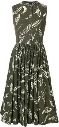 Aspesi printed buttoned dress