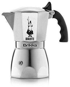 """Bialetti Brikka Elite"""" Espresso Maker, Silver, 4 Cups"""