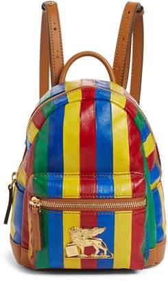 MCM X-Mini Leather Backpack