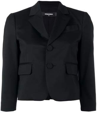 DSQUARED2 cropped fitted blazer