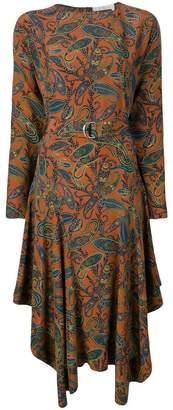 Chloé paisley midi dress