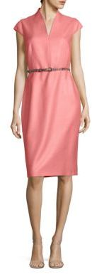 Max Mara Max Mara Reseda Silk-Blend Dress