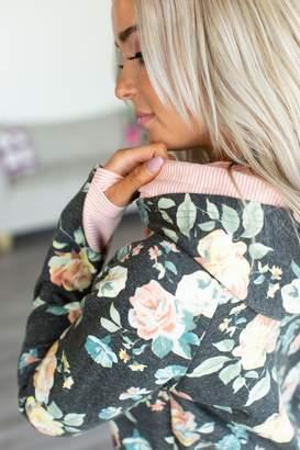 Ampersand Avenue DoubleHood Sweatshirt - Coming Up Roses